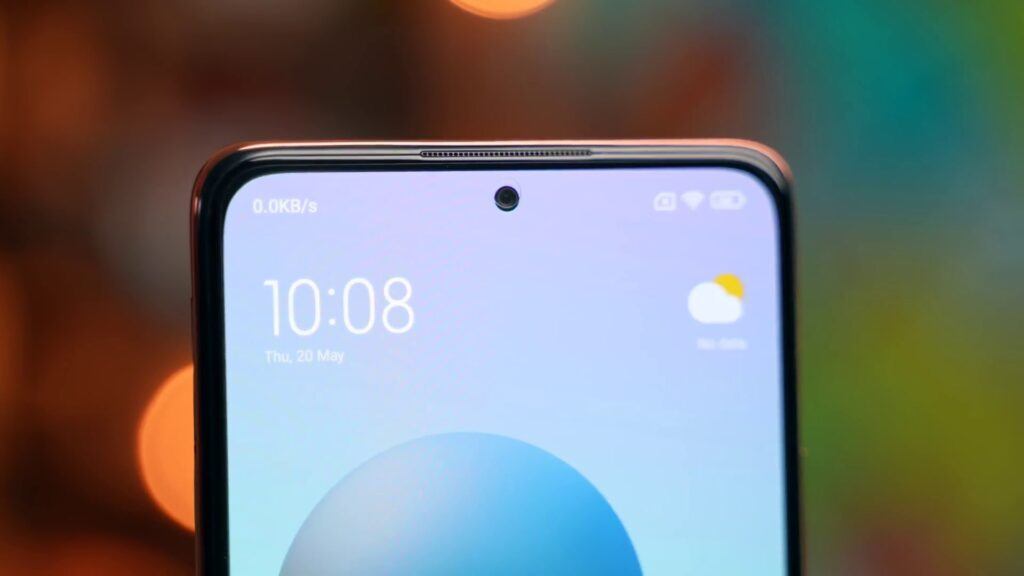 redmi note 10 pro front view